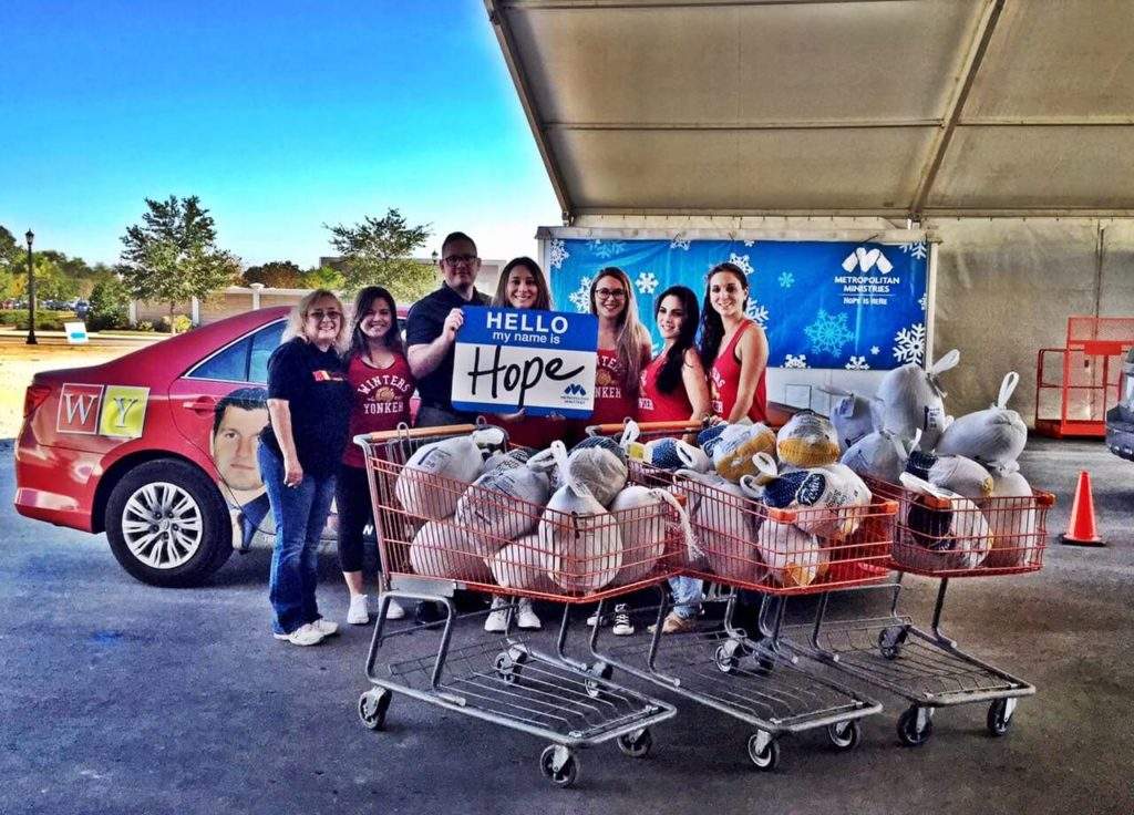 Winters and Yonkers Charity Work