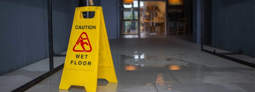 How does a personal injury lawyer prove liability in a slip and fall accident
