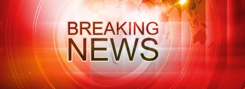 Breaking news about the five vehicle accident