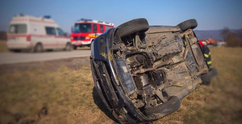 A car accident in New Port Richey. Car accidents are common causes of wrongful deaths.