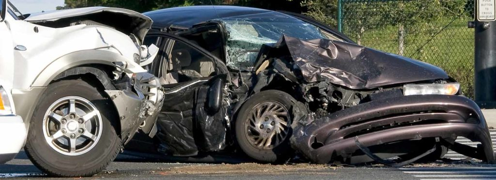 Picture of a serious car accident that can change your life