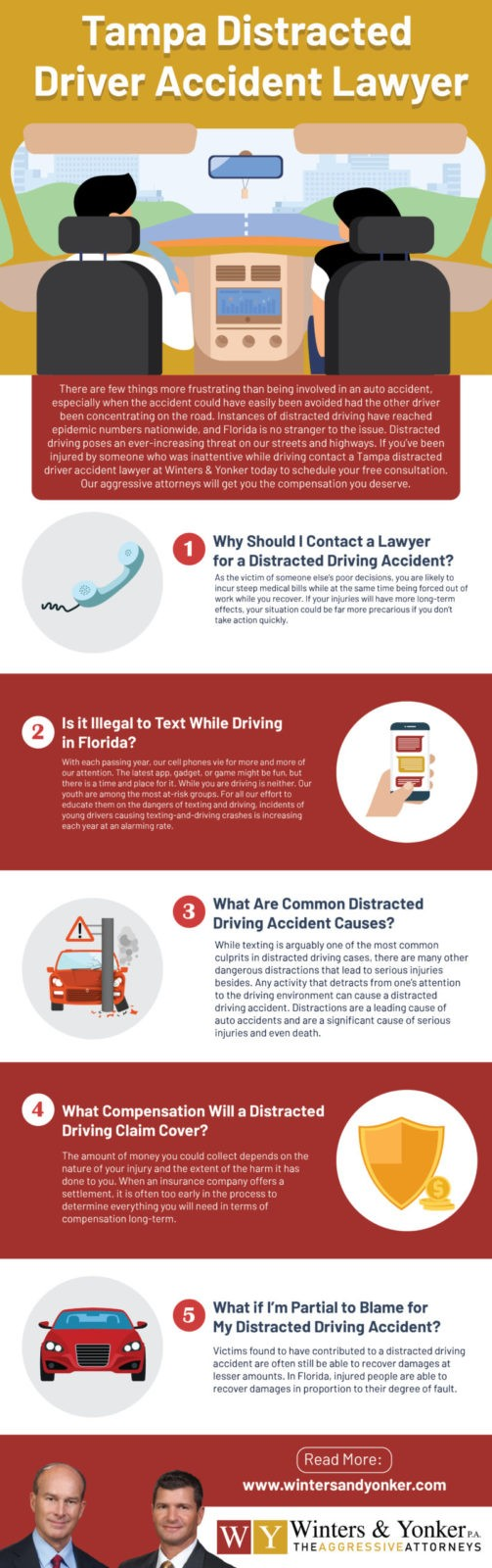 Tampa Distracted Driver Accident Lawyer 1