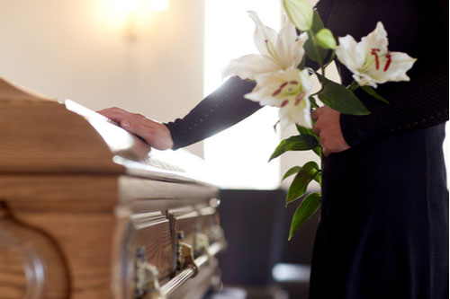 Funeral, concept of Odessa wrongful death lawyer