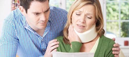 An woman contacting a Winter Haven personal injury lawyer for help with a claim.