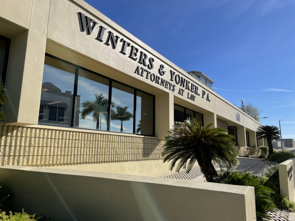 Winters & Yonker PA Attorneys At Law Wrongful Death Case